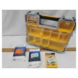DeWalt Organizer/ Earphones, Micro Charge Packs