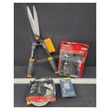 Fiskars Shears, Torque Driver, Switch & Hose