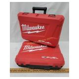 2- Milwaukee M18 Fuel Drill Cases - Case Only