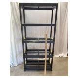5 - Shelf Storage Unit