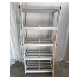 Heavy Duty Storage Unit With 5 Shelves