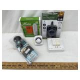2 - Countdown Timers/ Ceiling Fan Remote & More