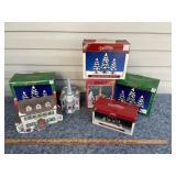 Christmas village collectibles