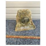 Rock mantle clock