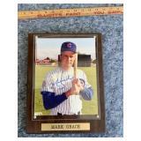 Mark Grace Autographed Photo - Chicago Cubs