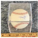 Todd Helton #17 Signed Baseball - Colorado
