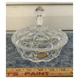 Lead Crystal Dish - Made in West Germany