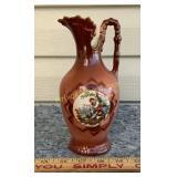 Czechoslovakian Hand Painted Vase