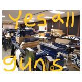 Approx  1,000 Guns February 15th 4pm & 16th 9am