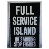 SST Full Service Island sign