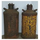 2 Oil cans