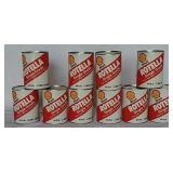 Shell Rotella quart SAE30 oil cans