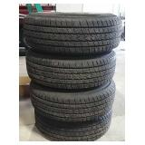 4 LT265/75R16 tires with rims