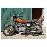 1978 Kawasaki KZ400 Motorcycle