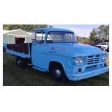 1958 Dodge D100 flatbed