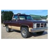 1983 GMC High Sierra Short box 4x4