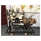 Ford Cutaway Engine and Transmission