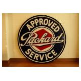 DSP Packard Approved Service sign