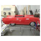 "Ford Thunderbird 55"" electric kiddie car"