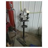 Craftsman bench grinder w/ stand