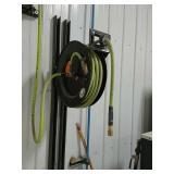 2 air hose reels