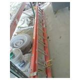 24ft Werner fiberglass extension ladder