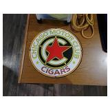 SSP Chicago Motor Club Cigar sign