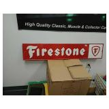 SST Firestone embossed sign