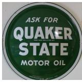 SST Quaker State Bubble sign