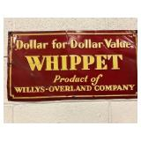 SST Whippet embossed sign