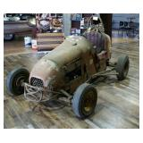 3/4 Wood Track Midget Race Car