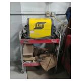 ESAB 650 plasma cutter with stand