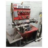 Ammco twin facing tool/ brake service & stand