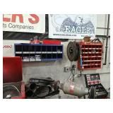 Wheel weights & Valve stem cabinet