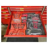 Snap-on open end wrenches and others
