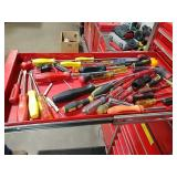 Snap-on screwdrivers and others