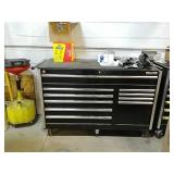 Craftsman rolling toolbox with vice