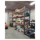 3 section pallet rack