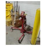 Snap-on transmission stand
