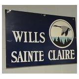 SST Wills Sainte Claire sign
