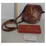 Roy Rogers signed purse, belt & pencil case