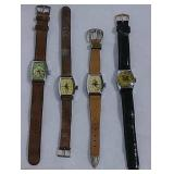 3 Roy Rogers & 1 Dale Evans watches