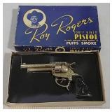 Roy Rogers cap gun Forty Niner w/original box