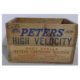 Peters wooden crate