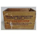 Winchester wooden crate