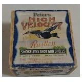 Peters High Velocity 2 piece ammo box