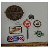 Advertising patches, mirror and more