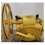 Unusual style Woodman pump jack