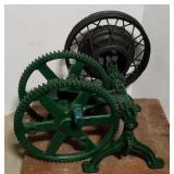 Hudson pump jack made in Oshkosh, WI