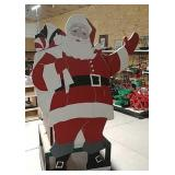 Heller- Aller Ohio waving Santa pump jack